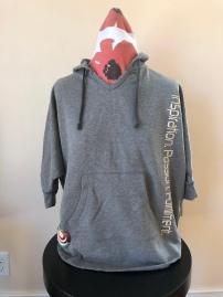 Short sleeved hoodie women (front) $75