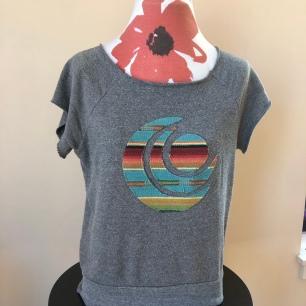 Short sleeved medium weight shirt women (front) $55