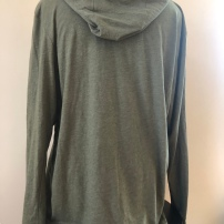 Light weight pull over hoodie unisex (back) $45