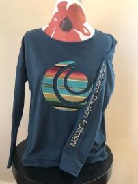 Long sleeve t-shirt women (front) $55