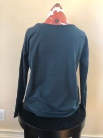 Long sleeve t-shirt women (back) $55