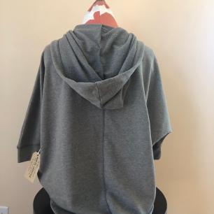 short sleeved hoodie women (back) $75