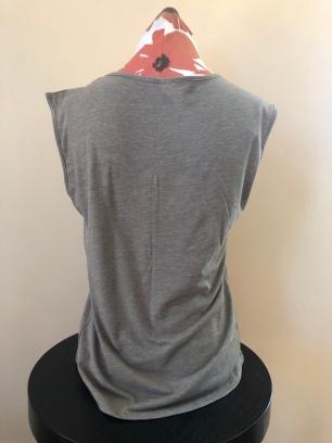 V-neck tank top women (back) $36