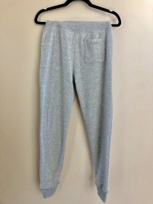 Grey Sweatpants Back with Motto $75