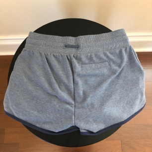 Blue Shorts Back $55